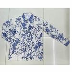 Hand Drawn Batik Long Sleeve Shirt