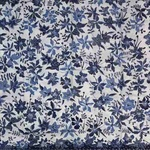 Hand drawn orchid motif batik fabrics