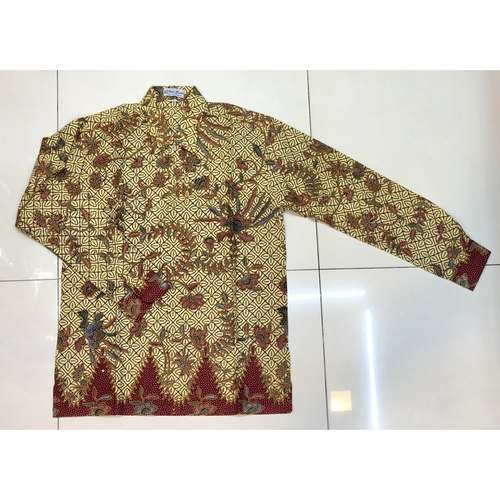 Batik print long sleeve shirt