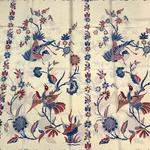 hand stamped batik fabric