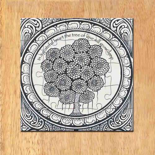 MAGNETIC MESSAGE PUZZLE - Patachitra