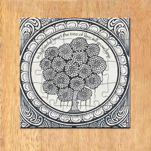 MAGNETIC MESSAGE PUZZLE - Patachitra