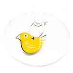 WINE GLASS CHARMS - Birds
