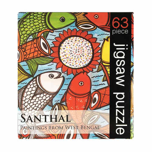 JIGSAW PUZZLE 63 PC - Santhal