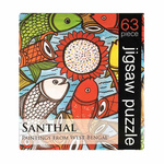 JIGSAW PUZZLE 63 PC - Santhal