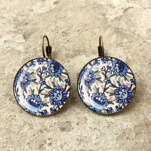 CLIP EARRINGS 25 MM - Kashida