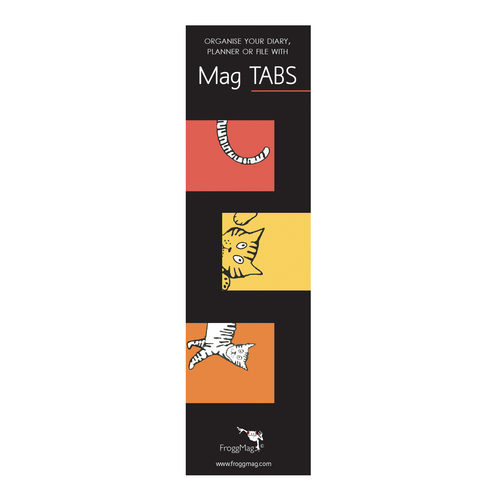 MAG TABS - Red Cats