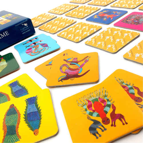 MEMORY GAME - Gond
