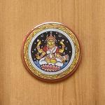 FRIDGE MAGNETS ROUND - Lakshmi Patachitra