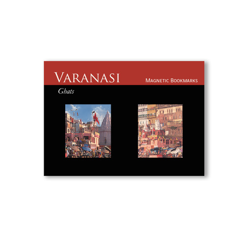 BOOK MARKS SET OF 2 - Varanasi - Red