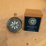 PAPERWEIGHT CLOCK - Orchha