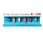 WINE GLASS CHARMS - FISH