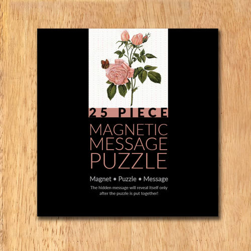 MAGNETIC MESSAGE PUZZLE - Rajasthani miniature