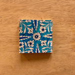 Gift Tag Set of 10 - Blue Pottery