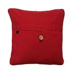 Art Cushion Cover 12 x 12 - Bhil Horse Red