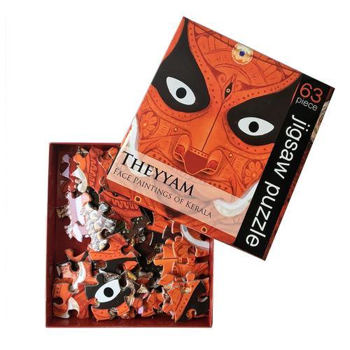 JIGSAW PUZZLE 63 PC - Theyyam
