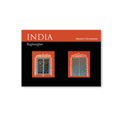 BOOK MARKS SET OF 2 - Raghurajpur window