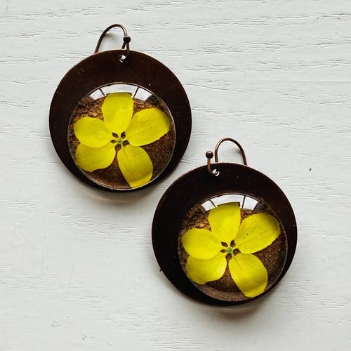 Earrings - Laburnum