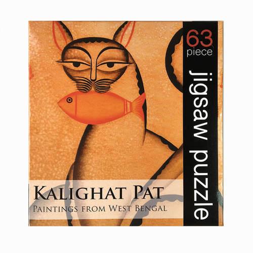 JIGSAW PUZZLE 63 PC - Kalighat Pat