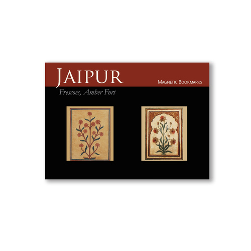 BOOK MARKS SET OF 2 - Amber fort Frescoes Wall