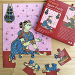JIGSAW PUZZLE 20 PC - Patachitra of Odisha