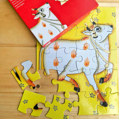 JIGSAW PUZZLE 20 PC - Pichwai from Rajasthan