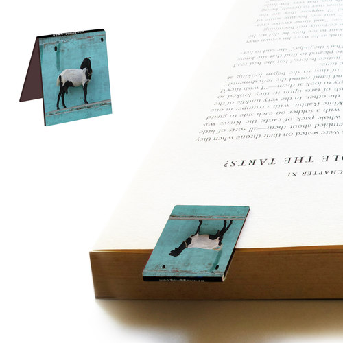BOOK MARKS SET OF 2 - Goats