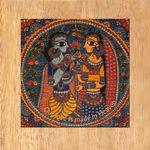 MAGNETIC MESSAGE PUZZLE - Madhubani