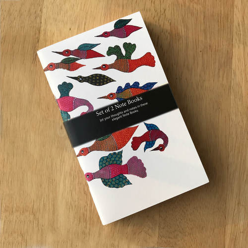 NOTE BOOKS _ SET OF 2 - Gond