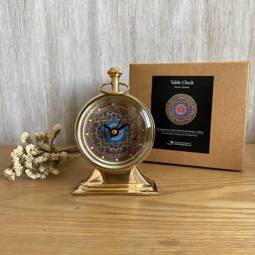 TABLE CLOCK - Mandala
