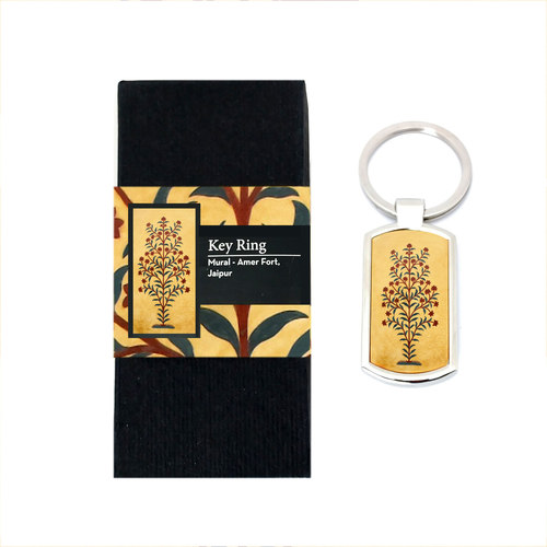 KEY RING - Amer Fort _ Floral Mural