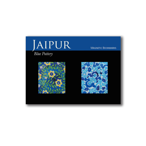 BOOK MARKS SET OF 2 - Jaipur blue