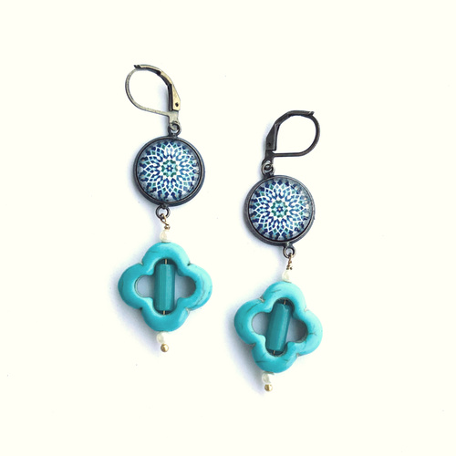 Earrings - Islamic Patterns