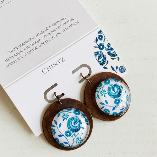 Earrings - Chintz