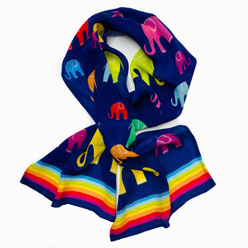 Kid Scarf - Elephants
