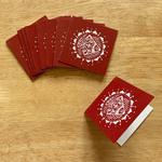 Gift Tag Set of 10 - Alpona