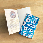 NOTE BOOK _ SET OF 2 - Blue Pottery