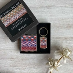 MURAL CITY PALACE - PILL BOX and KEYRING - Gift Pack