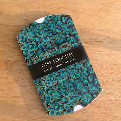Gift Pouch - Kashmiri Naqashi, Shikra