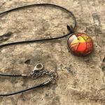 Art pendant - Kalighta Pat - Machcher Biye