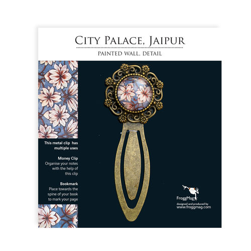Metallic Bookmark - City Palace Jaipur