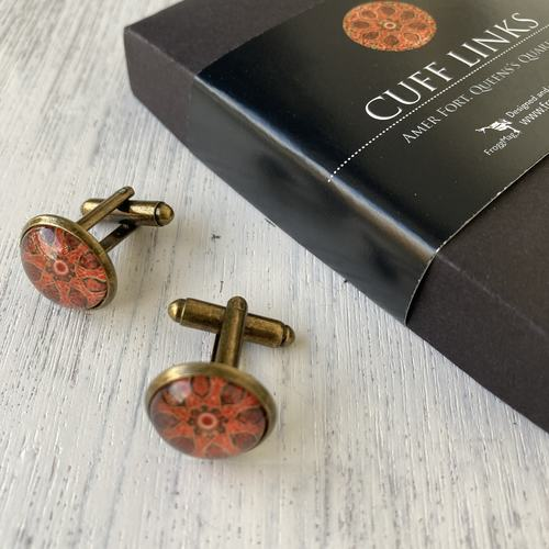 Cuff Links - Amer Fort Queen's Quarters