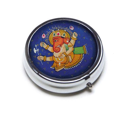 PILL BOX ROUND - Round _ Ganesh