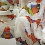 SCARF CHANDERI - Gond Fish