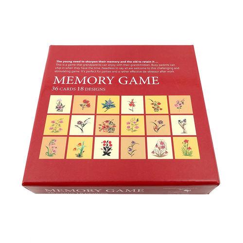 MEMORY GAME - Mughal Flowers