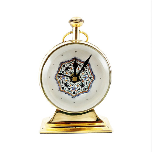 TABLE CLOCK - Medallion Amer Fort