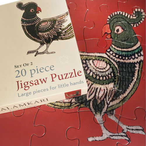 JIGSAW PUZZLE 20 PC - Kalamkari Birds