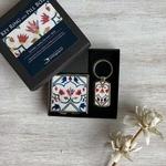 TAJ MAHAL - PILL BOX and KEYRING - Gift Oack