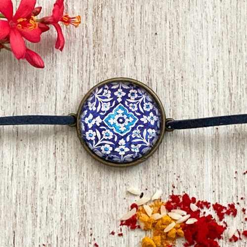 Rakhi - Blue pottery
