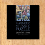 MAGNETIC MESSAGE PUZZLE - Mughal Miniature, detail